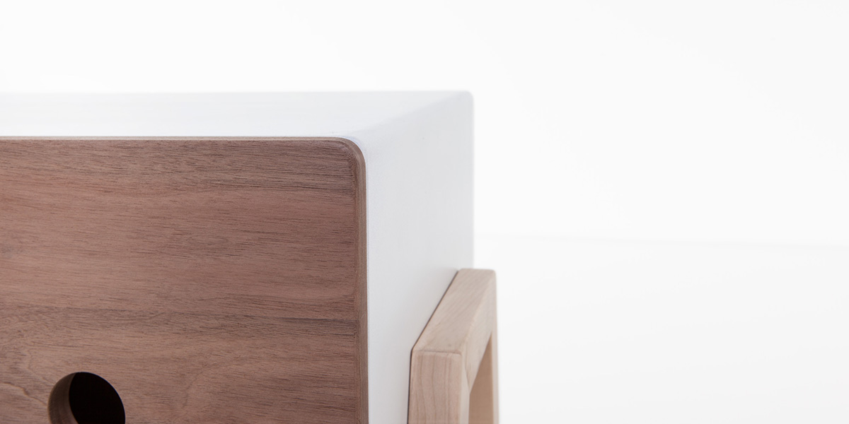 Ottone Bedside Table By Formabilio