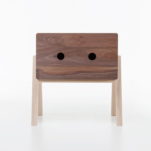 Ottone Bedside table Bedroom Formabilio Walnut