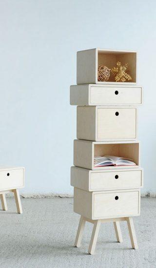 Otura Basic: A modular furniture system by Rianne Koens
