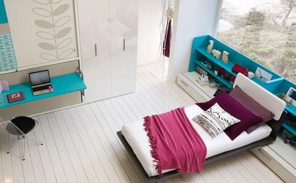 Poppi board wall bed kids room