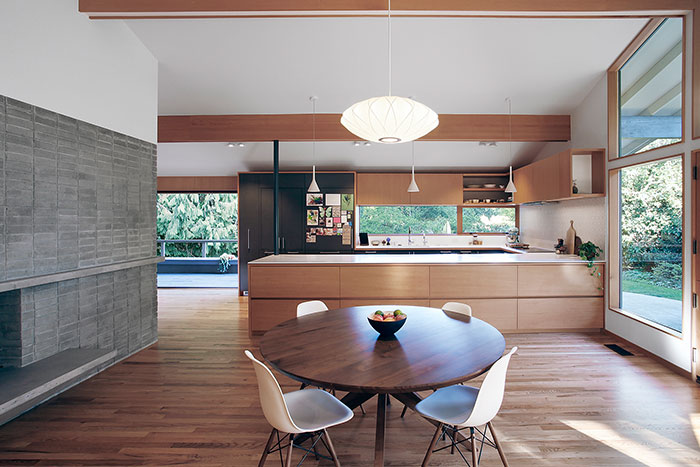 Seattle  house remodel by SHED Architecture & Design - modern kitchen design