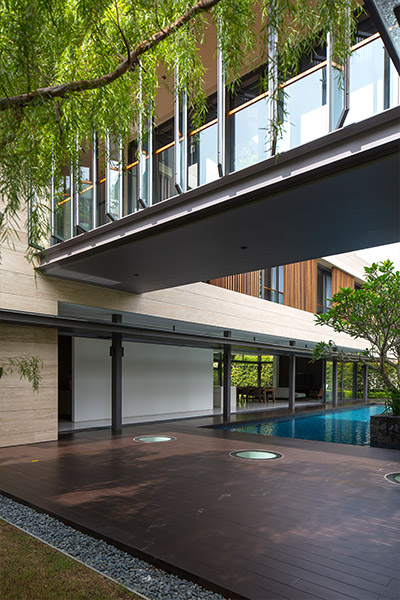 Secret Garden House: Contemporary architecture for luxurious home in Singapore - by Wallflower Architecture + Design