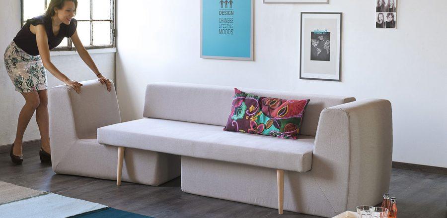 Modular Sofa By Fabrizio Simonetti For Small Living Room