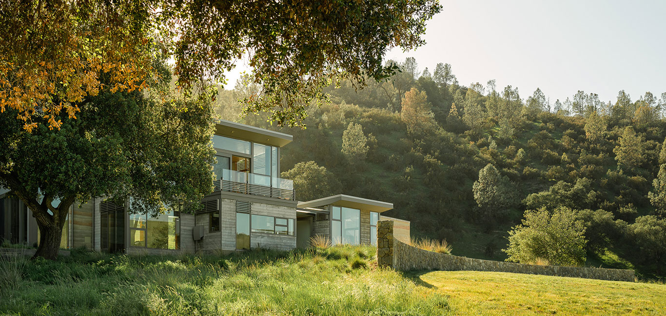 Spring Ranch by Feldman Architecture: Modern Californian retreat that is LEED Gold certified