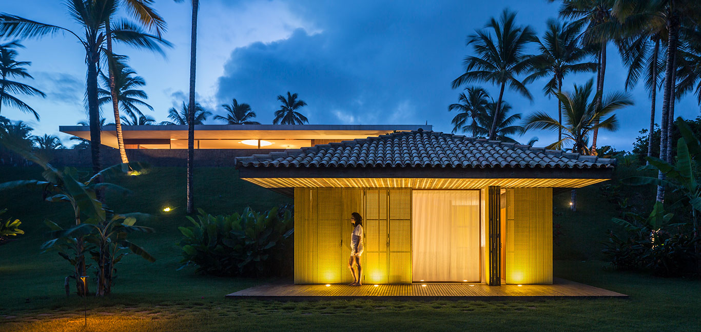 Txai House by Studio MK27 - modern home with ocean views in Brazil