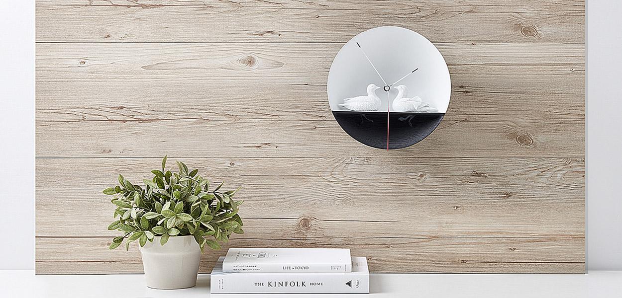 Waterbird x clock by haoshi design