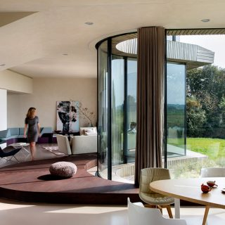 UNStudio's W.I.N.D. House in the Netherlands is a spectacular contemporary smart home