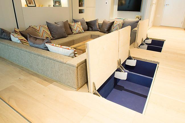 YO! Home floor storage small apartment