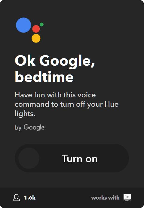 10 Best IFTTT Applets for Google Home & Pixel - Turn off Philips Hue lights