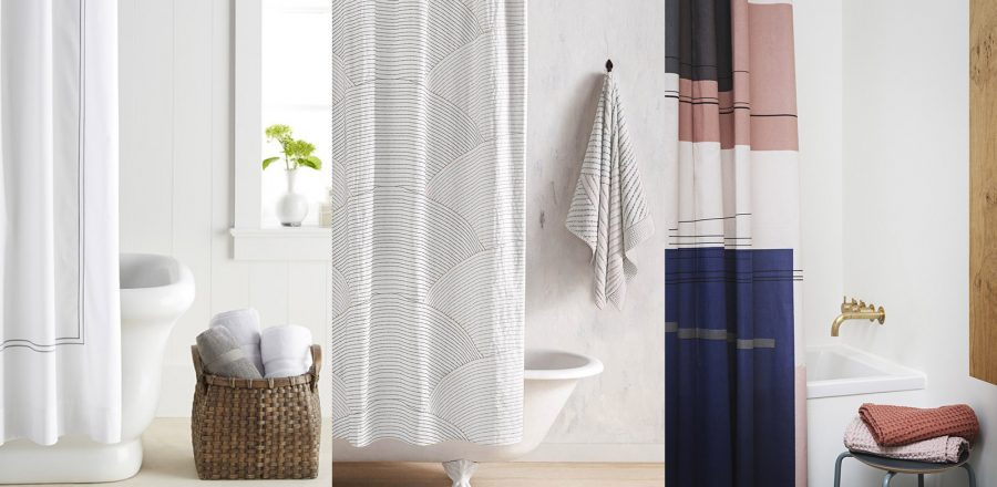 10 stylish shower curtains for a modern bathroom - shopping guide