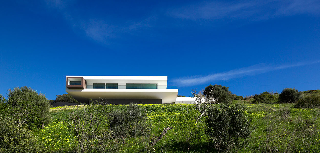 A stunning Bauhaus style home in Algarve, Portugal