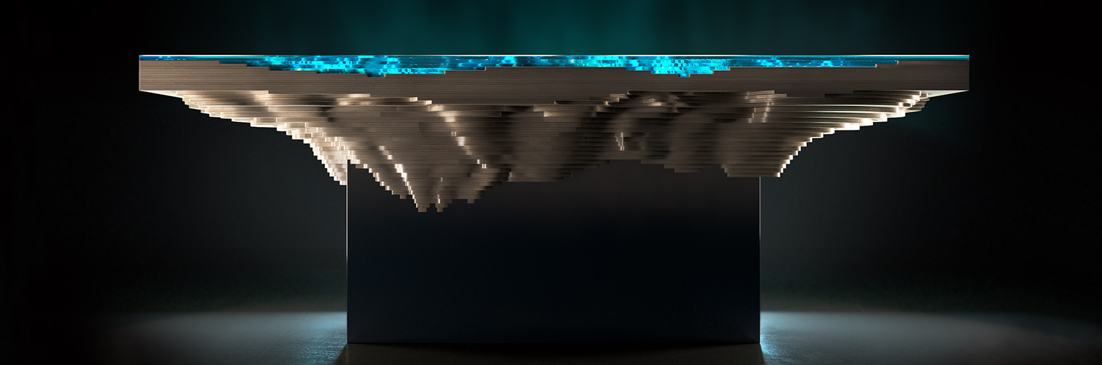 Abyss Dining Table By Christopher Duffy From Duffy London