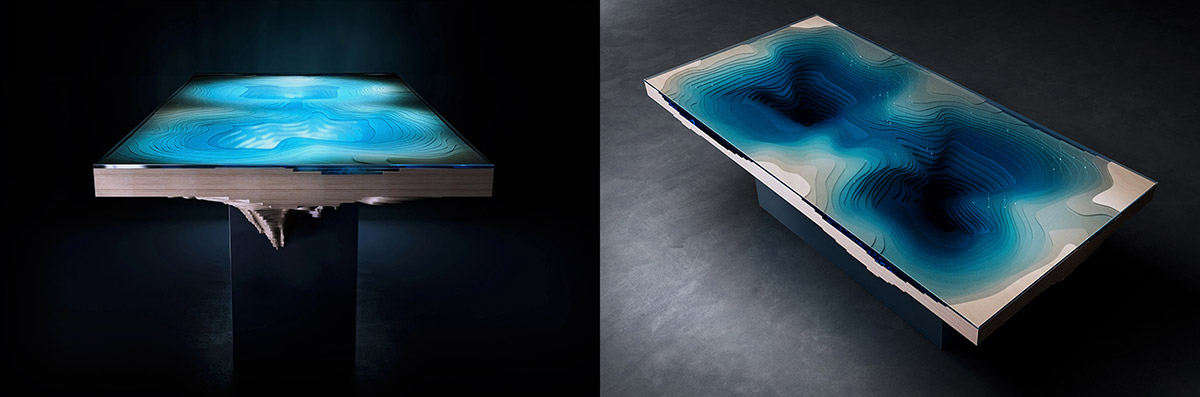 Abyss Dining Table - Unique Table By Christopher Duffy