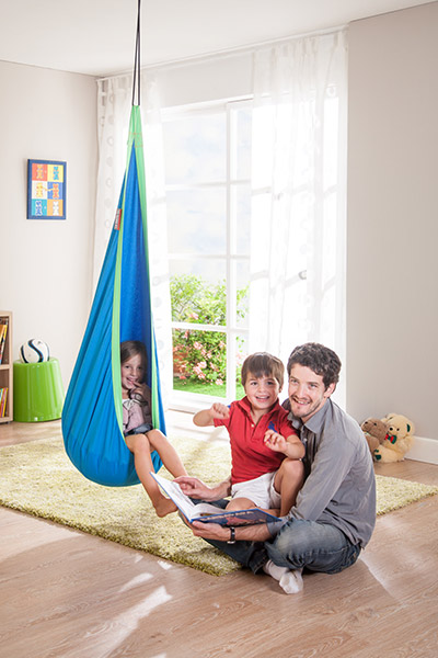 Adorable hanging nest hammock for children