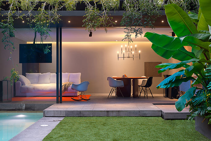 Barrancas House Modern Home In Mexico City