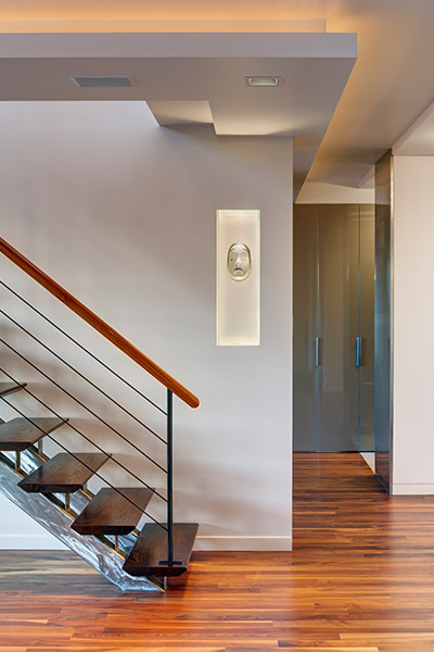 Beautiful Staircase In A Stunning Manhattan Duplex