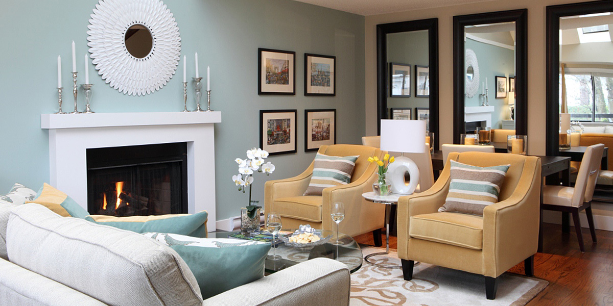 How to decorate your living room - Maria Killam Burnaby Residence Contemporary Living Room
