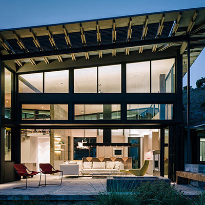 Butterfly House - Contemporary Home In Carmel California Inspired By Nature