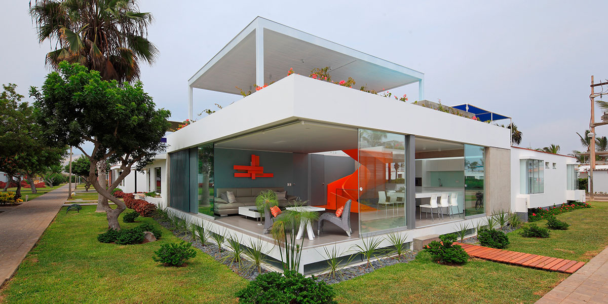 Casa Blanca Stunning House In Asia District Peru