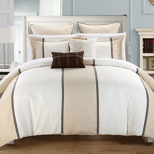 Chic Home 7-Piece Frontier Comforter Set with Shams and Decorative Pillows