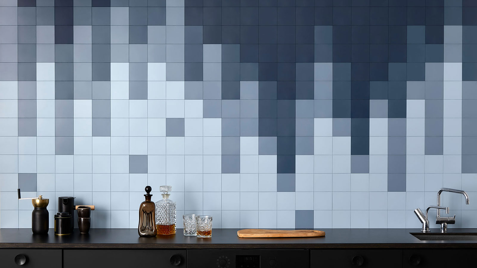 Click'n Tile allows you to change the look of your kitchen and bathroom tiles whenever you want