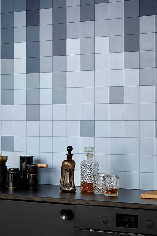 Click'n Tile allows you to change the look and feel of kitchen walls