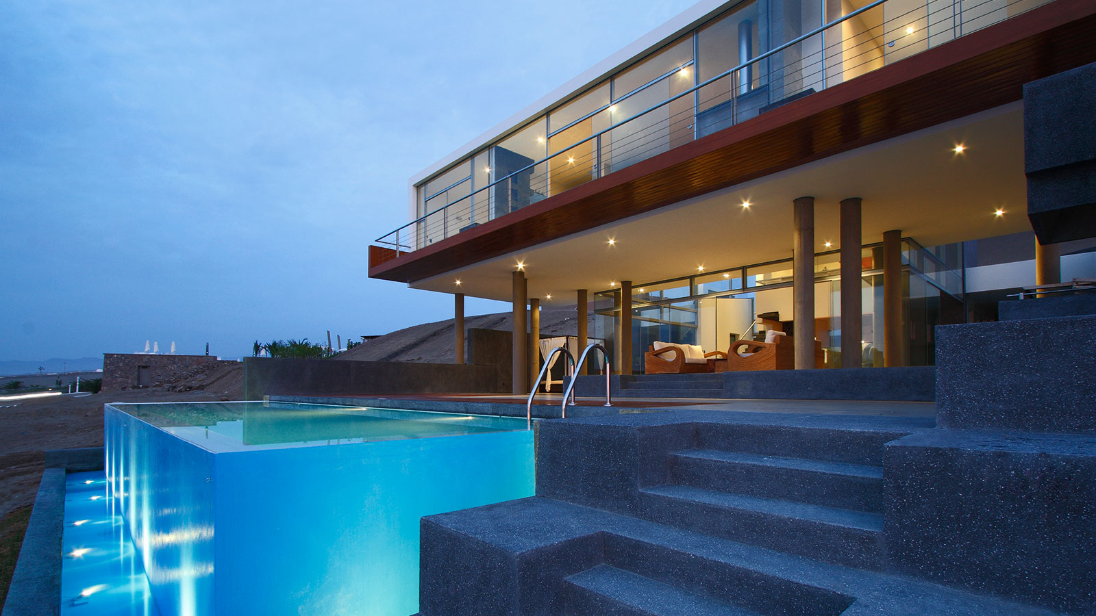 Contemporary Beach House In Lima Peru Q By Longhi Architects