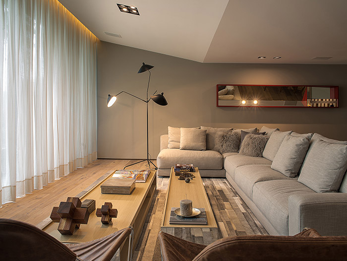 Contemporary Living Room By Ezequiel Farca Architecture And Design