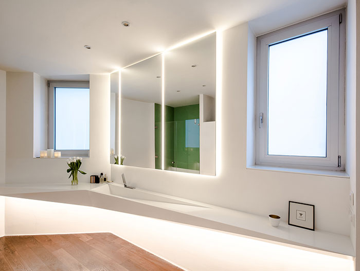 Contemporary bathroom design by Who Cares?! Design