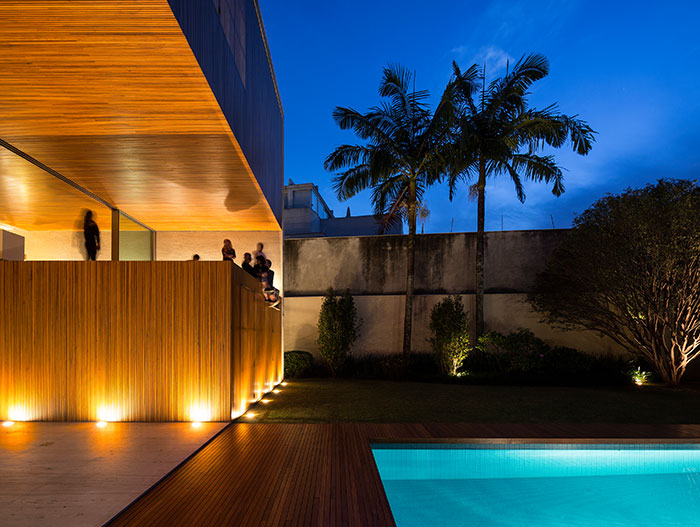 Contemporary house in Sao Paulo Brazil