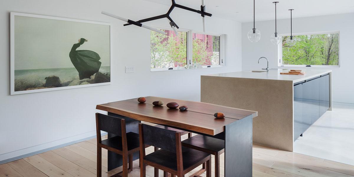 Davis Residence White Kitchen Design