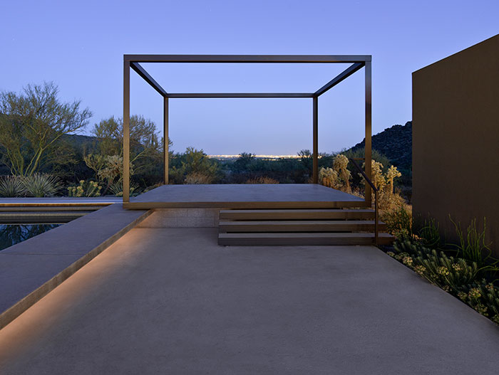 Desert House In Marana Arizona By Ibarra Rosano Design Architects