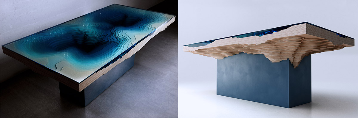 Duffy London Replicates The Ocean Depths With The Abyss Dining Table