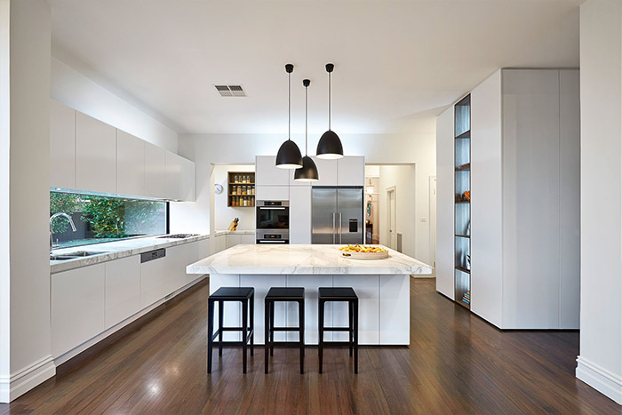 East Malvern Residence Modern Kitchen