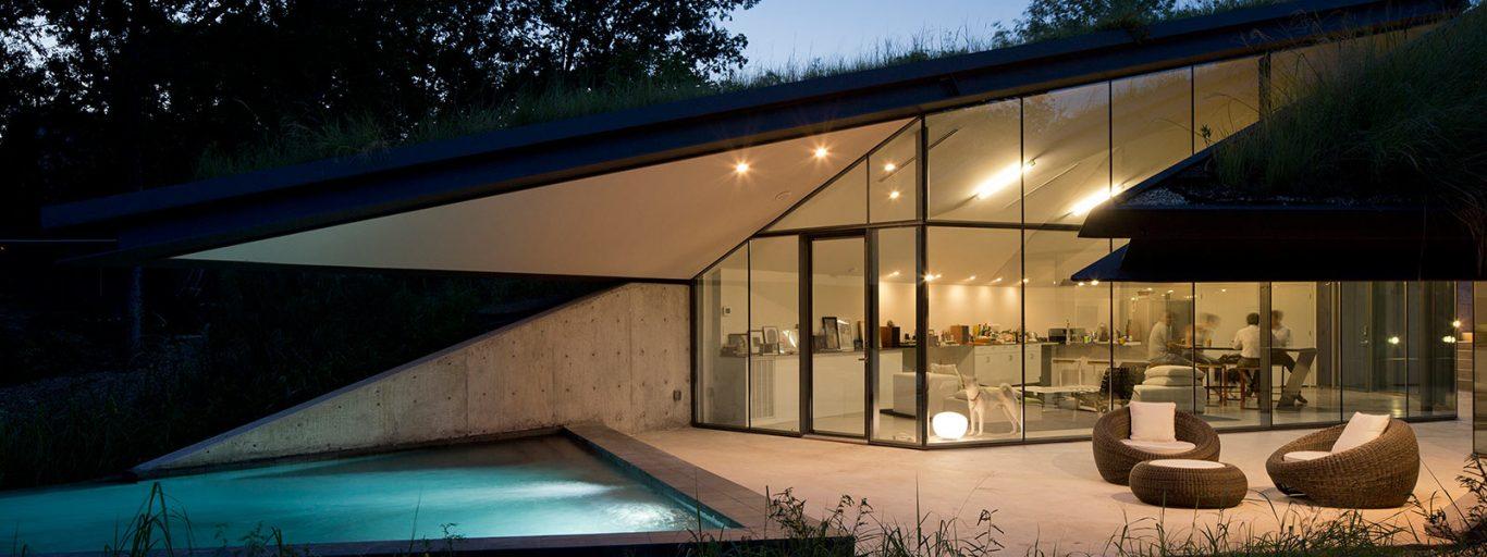 Edgeland House By Bercy Chen Studio