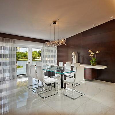 Elegant Dining Room By Pepe Calderin Design In Miami Beach Florida