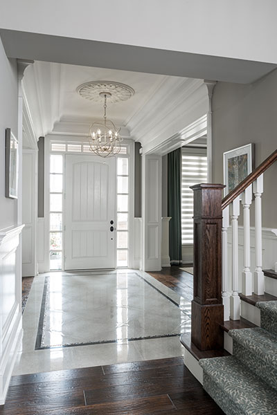 Entryway Of A Traditional Home