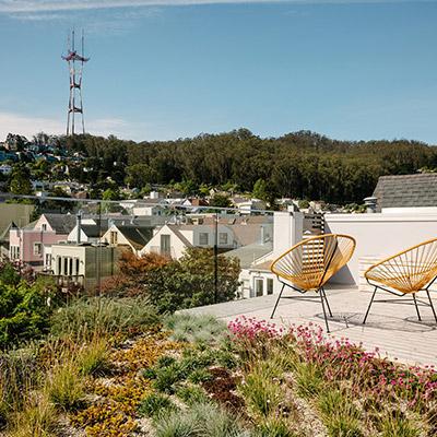 Fitty Wun by Feldman Architecture - Terrace