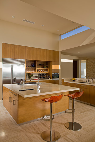 Garay Residence By Swatt Miers Architects - Modern Kitchen Design