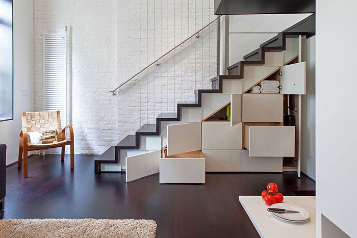 Great Storage Idea For Maximizing Space In A Small Apartment