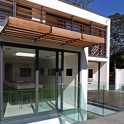 Greystones Modern House by Nicolas Tye Architects