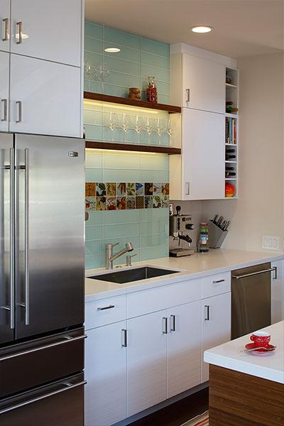 Harmon Residence Modern Kitchen