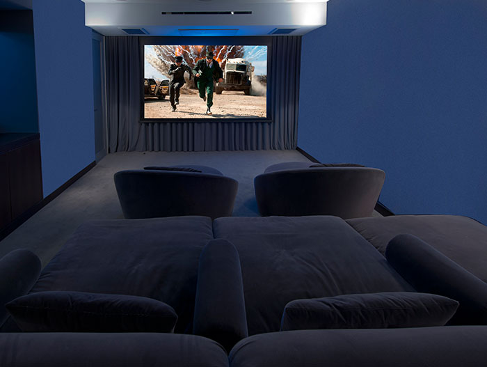Hopen Place-Home theater design