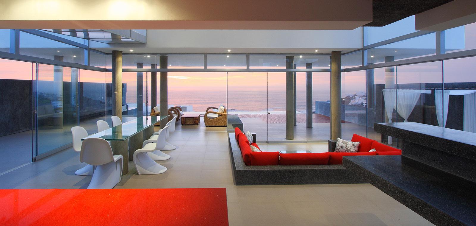 House Q - Contemporary beach house near Lima,Peru