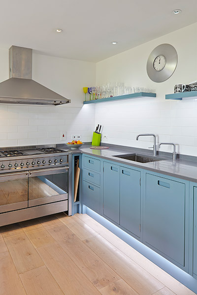 House in Hamble Open Plan Kitchen