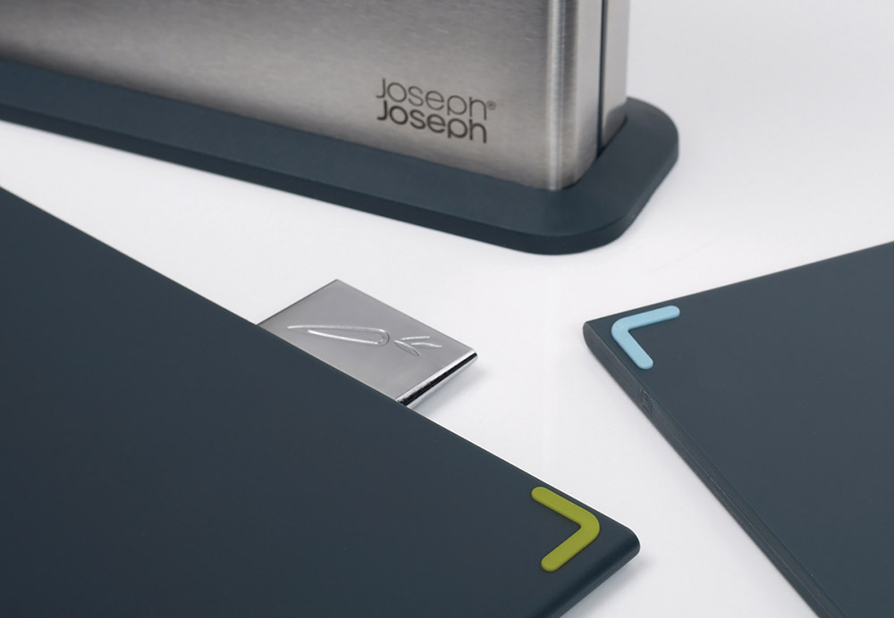 Joseph Joseph Index chopping board set adds style to your kitchen