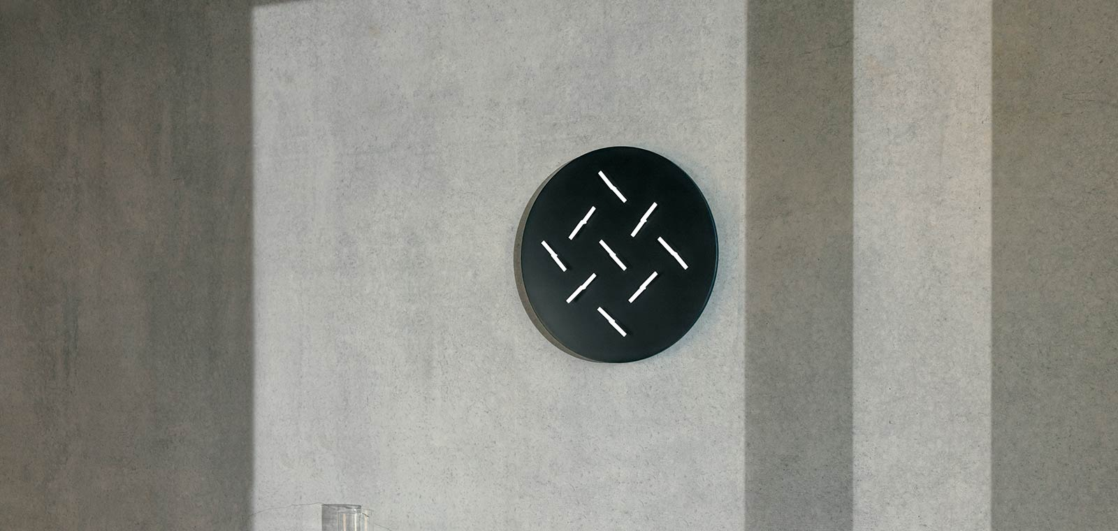 ClockClock 9 by Humans Since 1982 is both a kinetic sculpture and a functioning wall clock