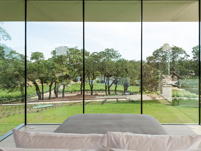 Large Windows Bedroom Design Ideas