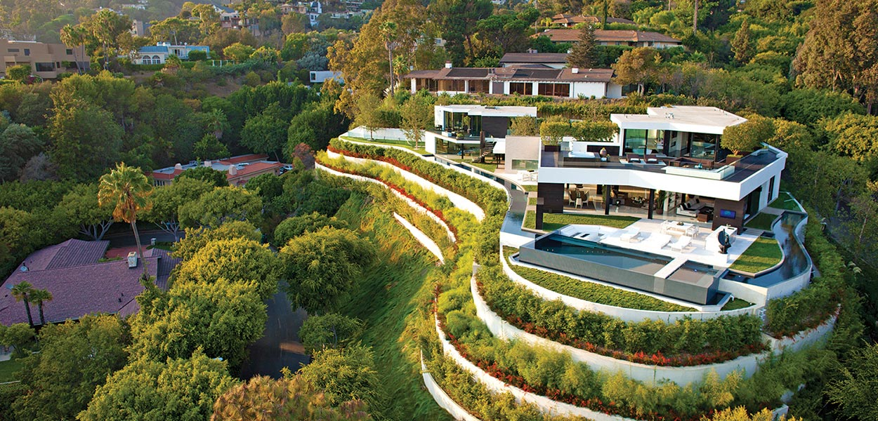 Laurel Way Dream home in Beverly Hills oozes luxury from every room