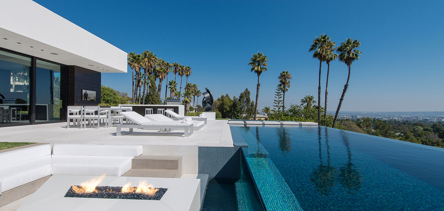 Laurel Way Residence: Beverly Hills dream home with zero edge infinity pool and impressive views